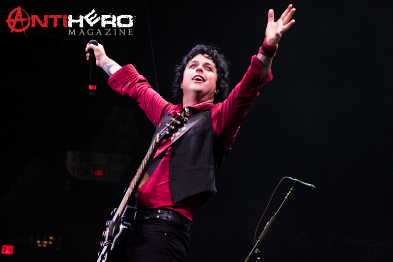 Green Day @ Moda Center, Portland, OR  8/2/17