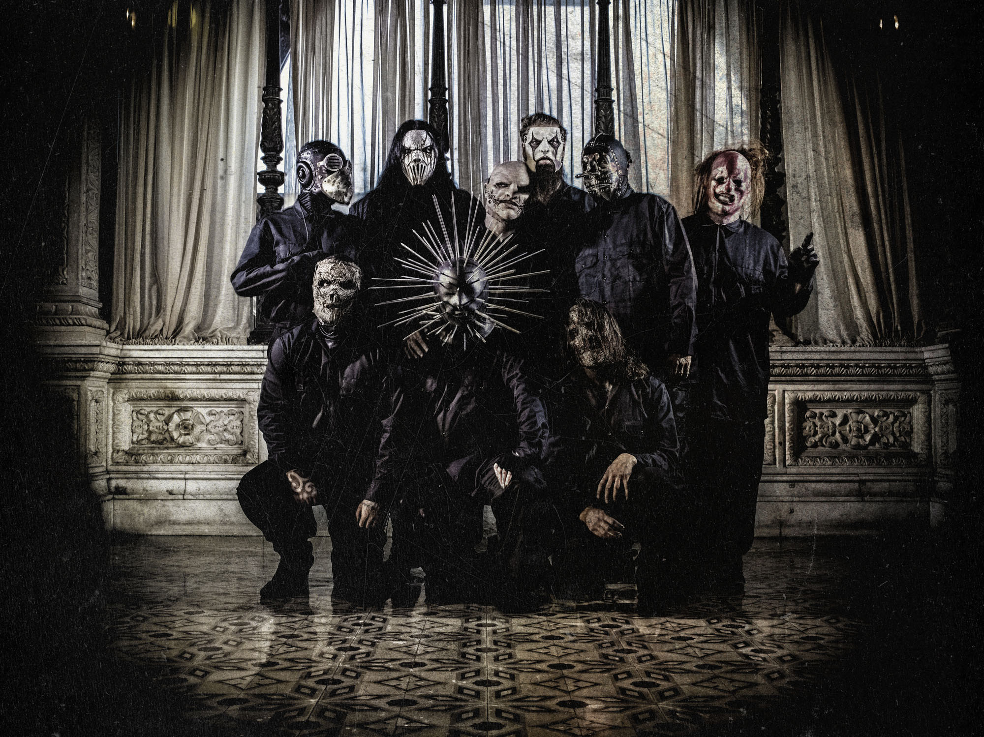 Slipknot - Photo by M. Shawn Crahan
