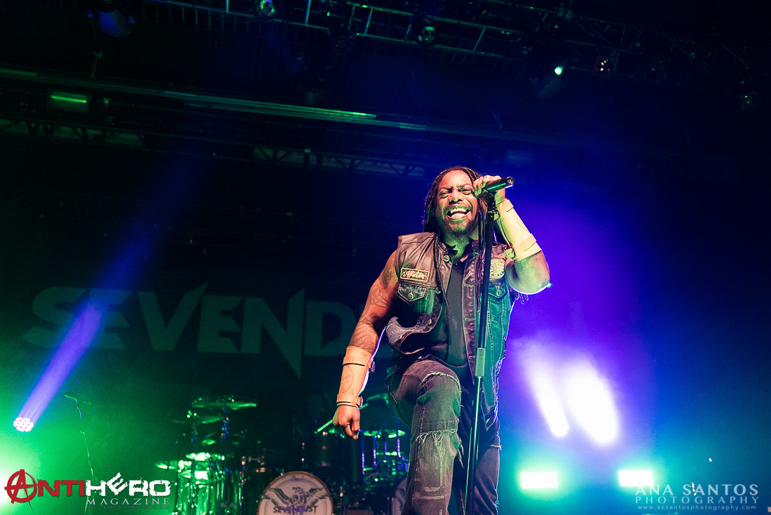 Sevendust || Playstation Theater, NYC 05.03.16