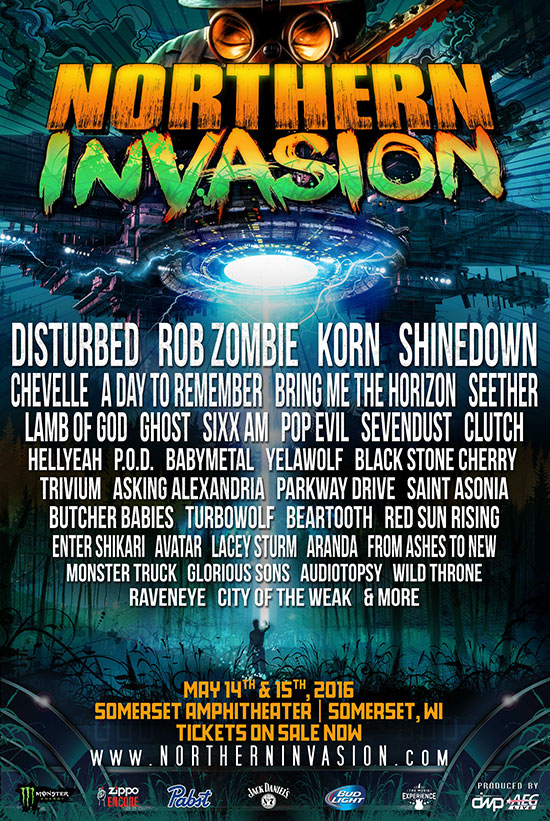 Northern Invasion 2016