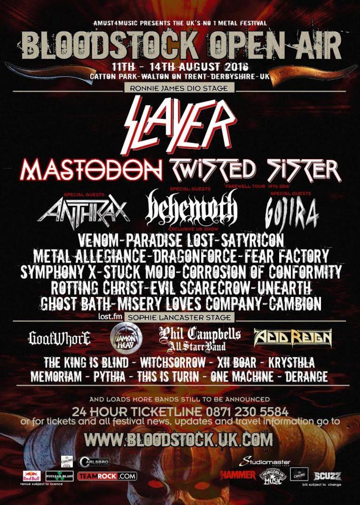 Bloodstock Festival 2016