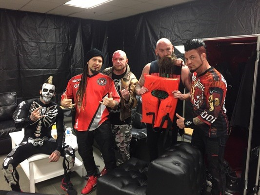 Monster Energy AFTERSHOCK alumni Five Finger Death Punch