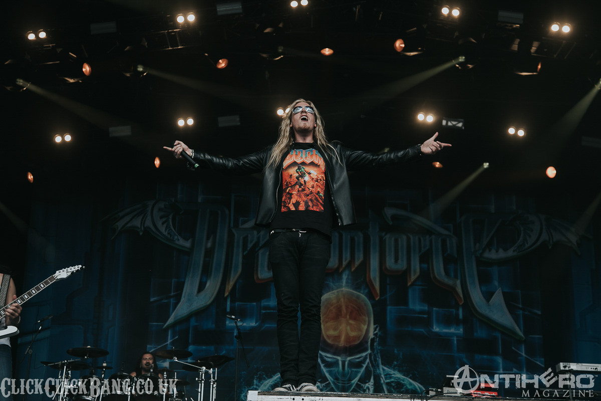 Concert Photos Dragonforce At Bloodstock Open Air 2016