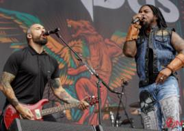 Concert Photos: SEVENDUST at Louder Than Life 2016
