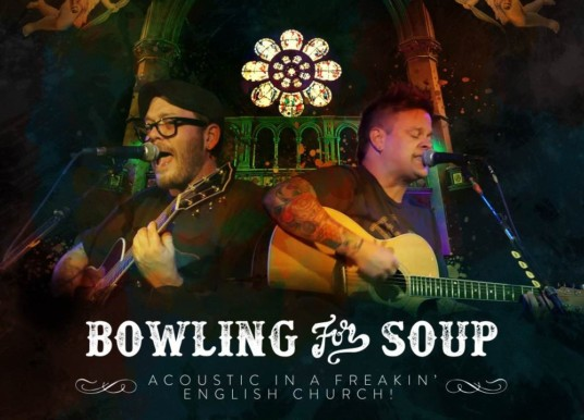 Album/DVD Review: BOWLING FOR SOUP – <em>Acoustic in a Freakin' English Church</em>