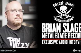 Brian Slagel - Metal Blade Records