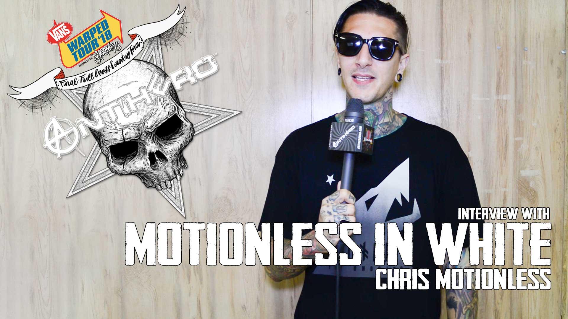 Chris Motionless 2019