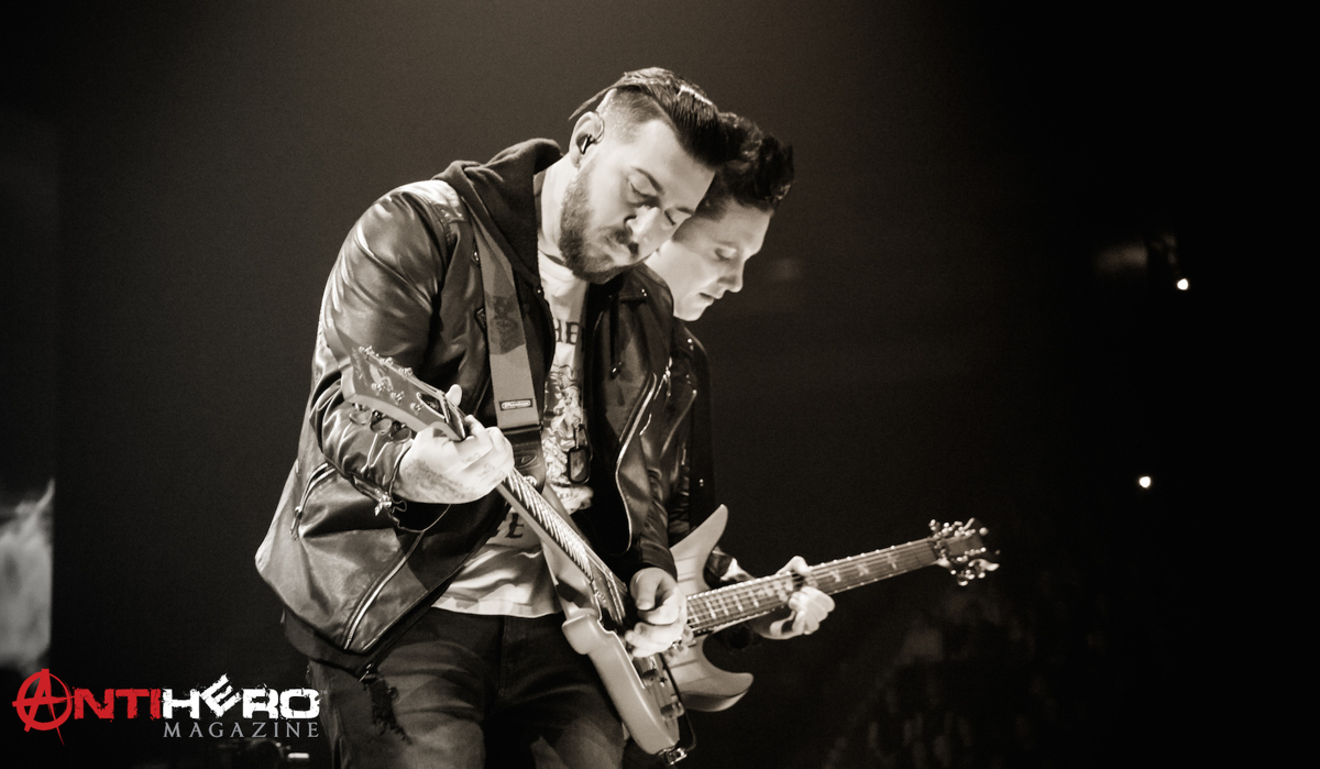 Concert Photos: AVENGED SEVENFOLD at Manchester Arena ...