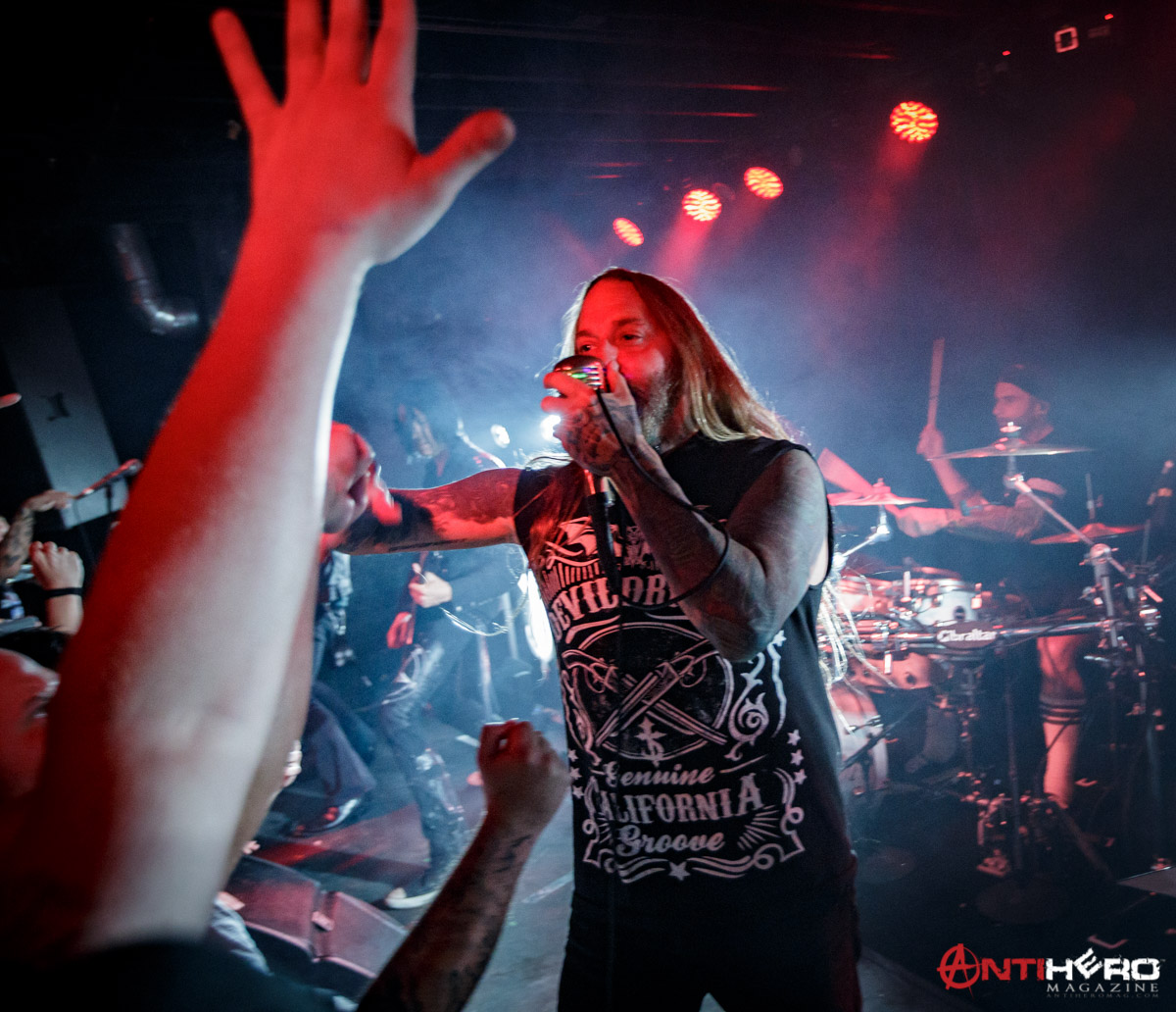 Concert Review: DEVILDRIVER at the Riot Room in Kansas City ...