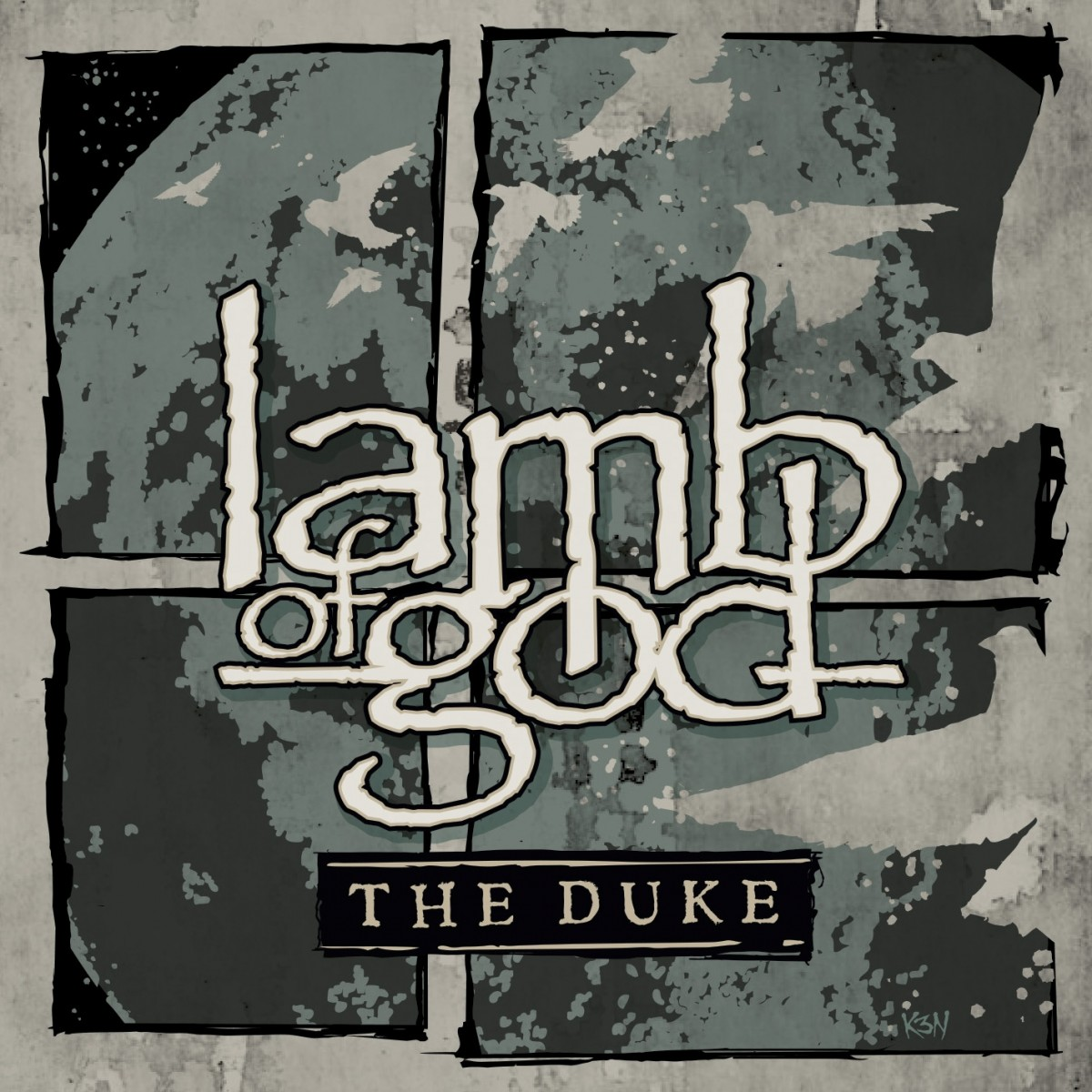 Lamb Of God - The Duke Artwork