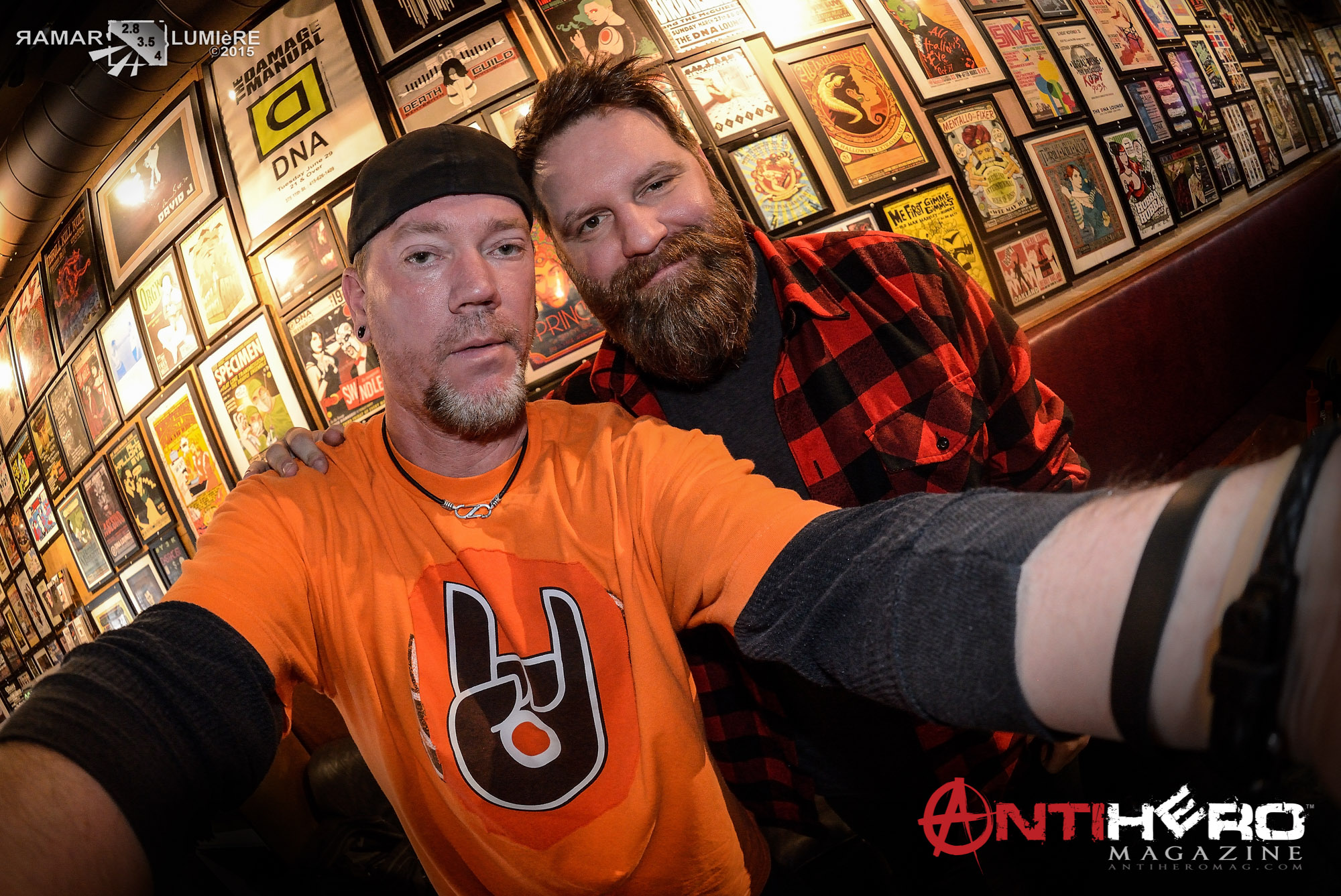 Brock Lindow with Greg RaMar - 36 Crazyfists
