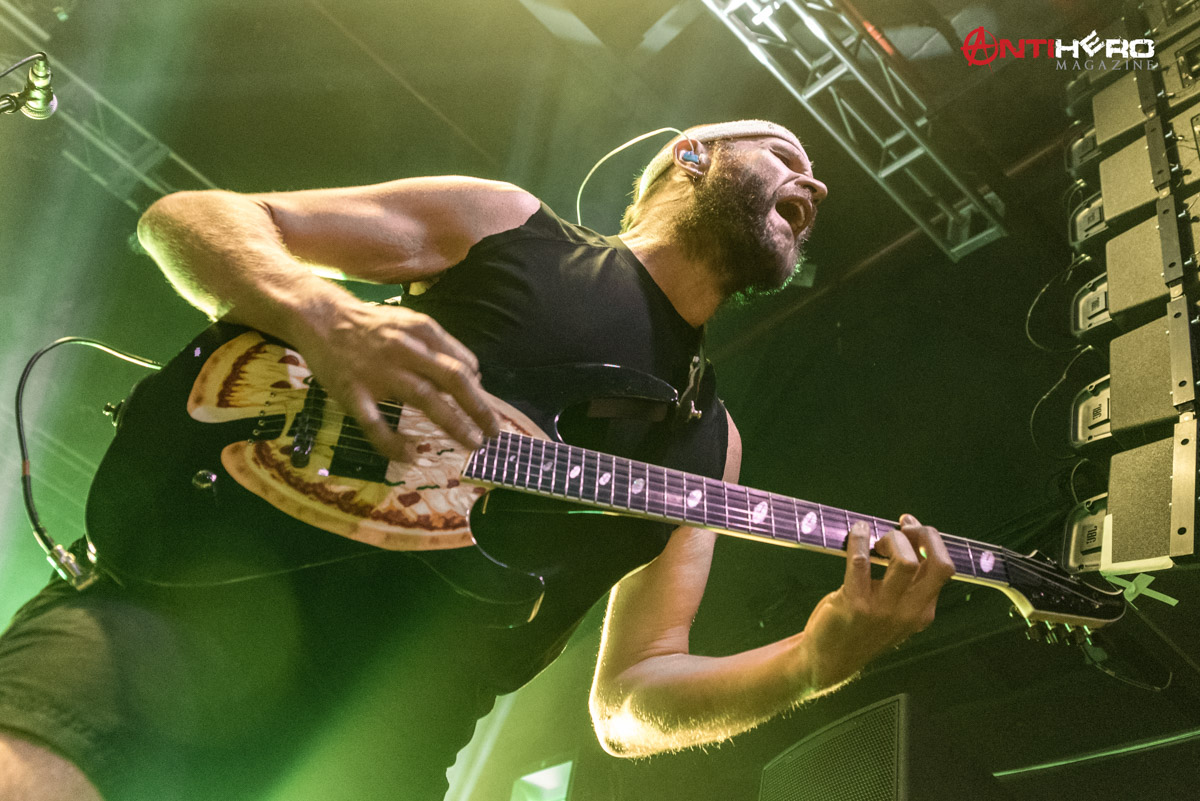 Concert Review And Photos Anthrax And Killswitch Engage At The