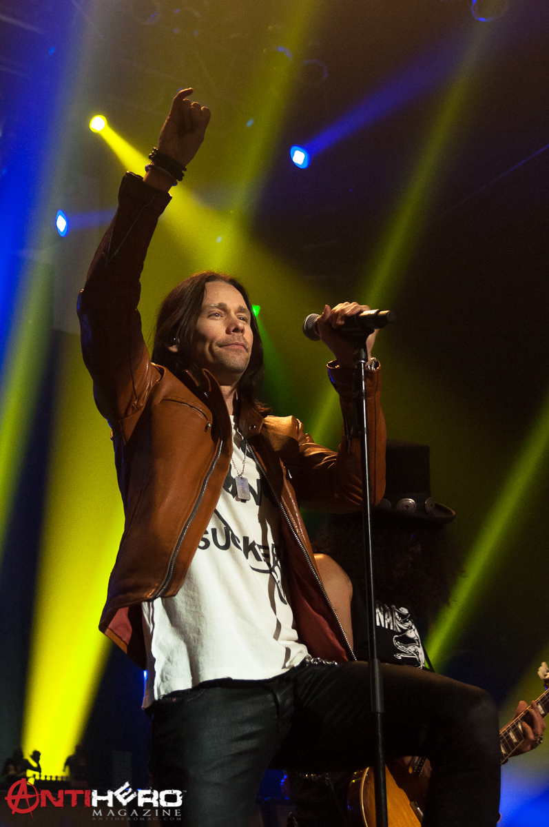 Slash feat. Myles Kennedy and the Conspirators live at Terminal 5, NYC. 05.07.15
