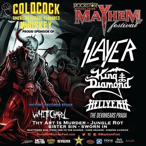 coldcock whiskey mayhem festival