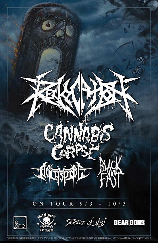 revocation tour poster