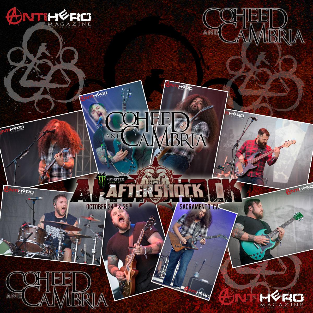 Aftershock 2015: COHEED AND CAMBRIA | Antihero Magazine