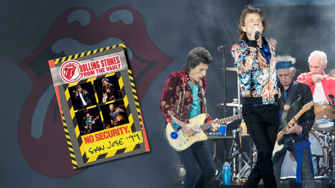 THE ROLLING STONES - FROM THE VAULT: NO SECURITY SAN JOSE