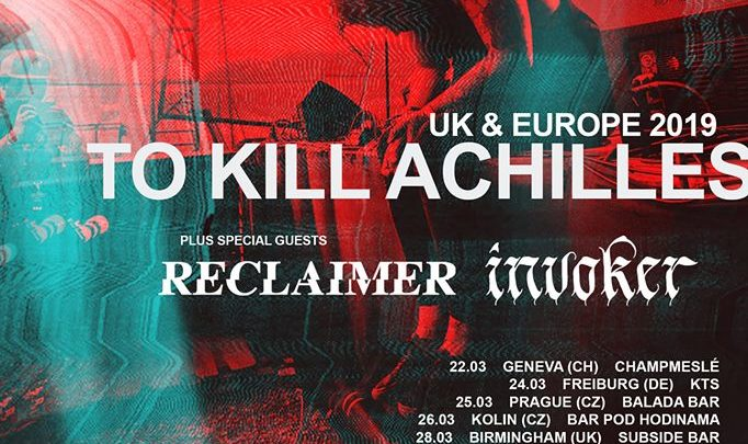 Invoker To Tour With To Kill Achilles and Reclaimer | Antihero Magazine